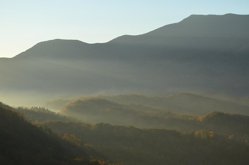 sunrise landscape tennessee greatsmokymountainsnationalpark gsmnp