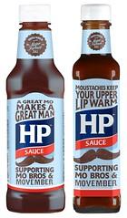 HP Sauce Movember