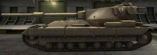 Британский Танк FV215b