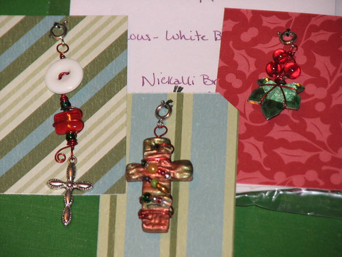 Ink Stains Altered Christmas Charm Swap 017