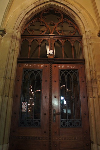 Weimar City Hall Door