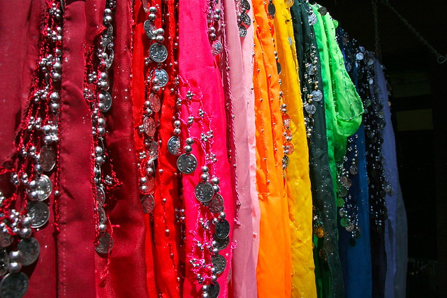 scarves for belly dancing