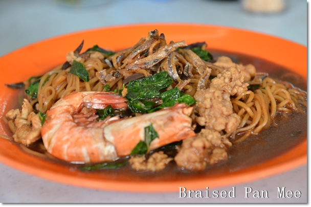Braised Pan Mee