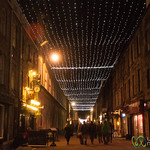 Rose Street at Night - Edinburgh, Scotland