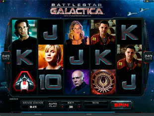 Battlestar Galactica Slot Machine