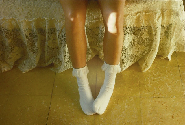 white socks