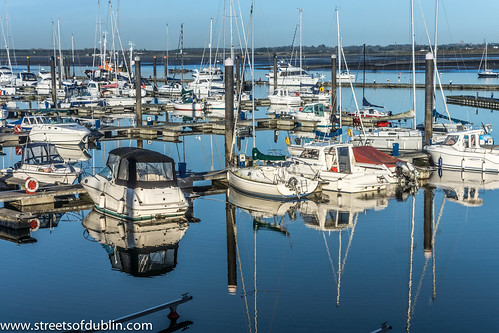 Malahide Marina And Surrounding Area - January 2013 by infomatique