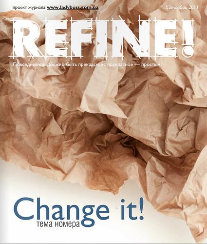 My publication in Refine magazine