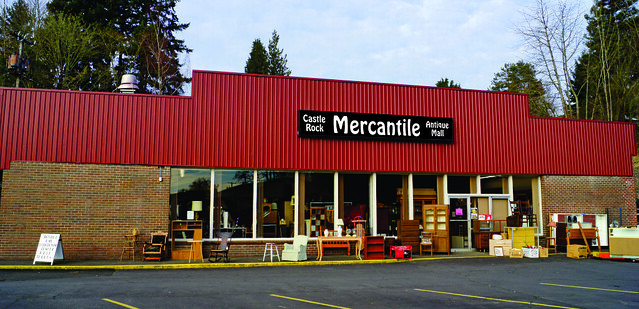 Castle Rock Mercantile Antique Mall 160 H Huntington Avenue N, Castle Rock, WA 98611