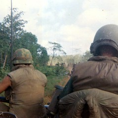 G Troop, May 3,1970, crossing the border to Snuol