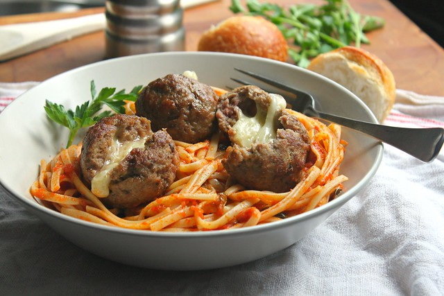 Cheesefilled meatballs1