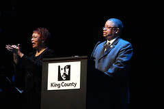 King County Council Chair Larry Gossett