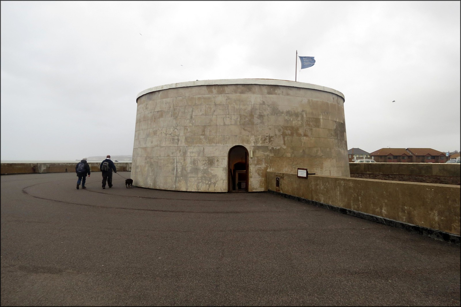 An old Martello Tower, now housing Seaford Museum