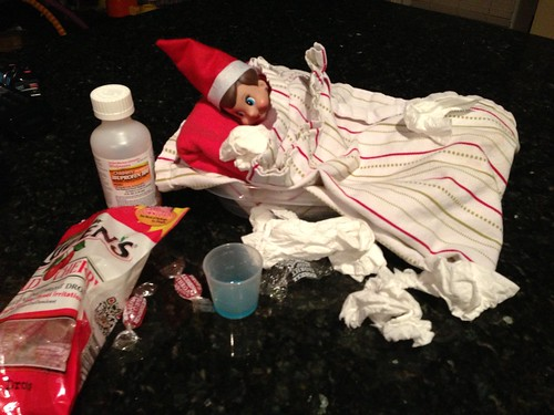 Jingle the Elf on the Shelf
