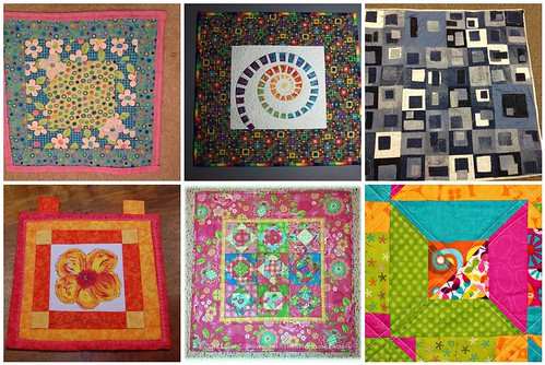 Project QUILTING Square in a Square Challenge, A Closer Look Part 6