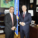 Assistant Secretary General Receives Ambassador of Morocco