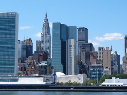 Vista de Manhattan desde el Gantry Plaza State Park