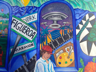 Mural for Highland Park