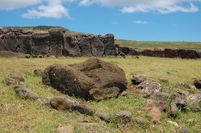 Stonework at Vinapu and Moai Head