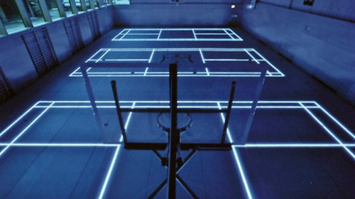 ASB GlassFloor – светодиоды заменят разметку на спортплощадке