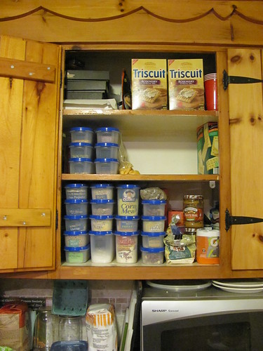 Cupboard after Tupperware, phase 1