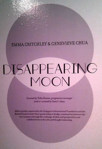 Disappearing Moon by Genevieve Chua
