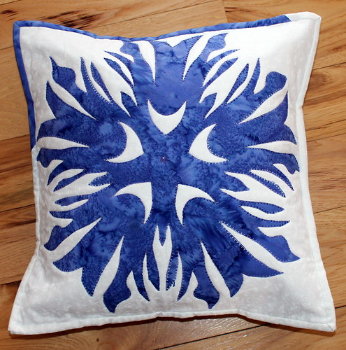 Trial Project Quilting Pillow