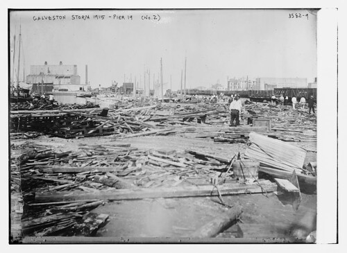 Galveston Storm, 1915 -- Pier 19 (No. 2)  (LOC)