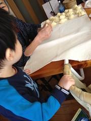 パン作り見学 2013/1/28