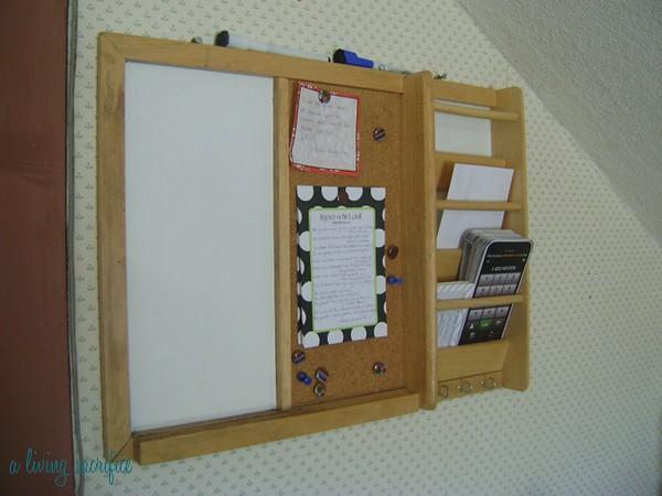 clean memo board