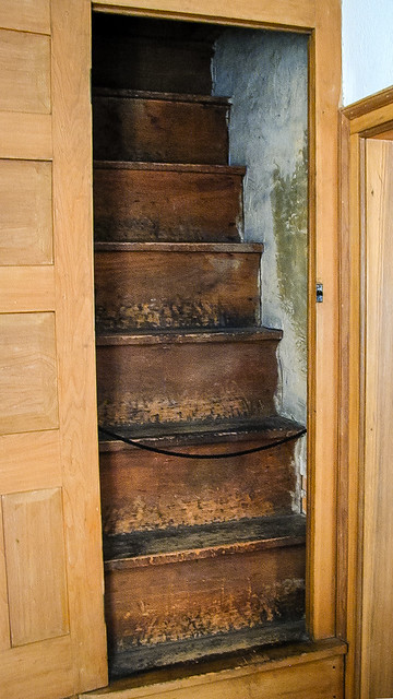 Steep Attic Stairs | Flickr - Photo Sharing! The Underground Railroad