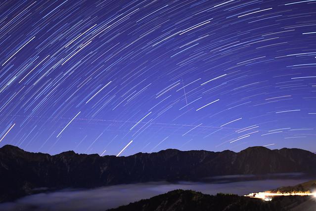 Star rain...合歡星雨@合歡山