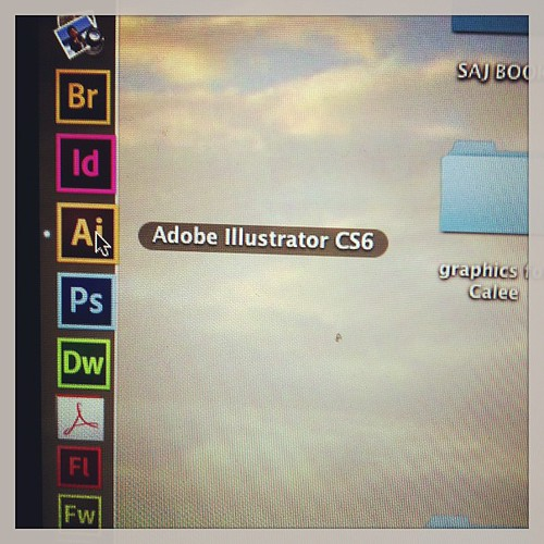 FINALLY upgraded to CS6. Learning Curve here I come.