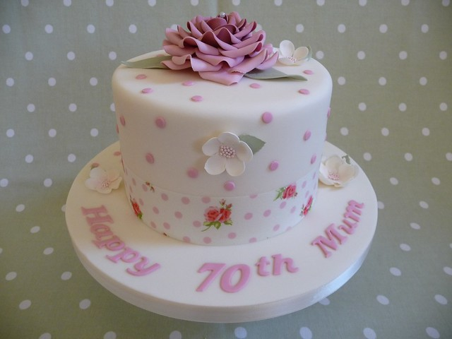 70th Birthday Cake Ideas For Women 107462