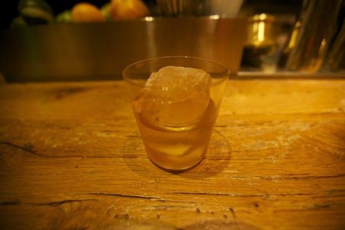 Old Fashioned with two bitters at Bar Agricole
