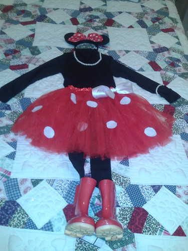 diy disfraz minnie mouse