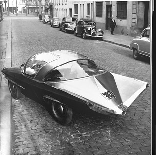 Serge Mouille fabricated this 1953