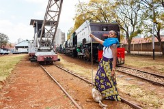 Who is the baddest? Who can take on a whole railway service and get it back up? Call her up and let's get these engines running again. @tracey_njoki  #portraits #portraits_ig #portraitpage #portraiturekings #portraitphotography #portraitphotographer #por