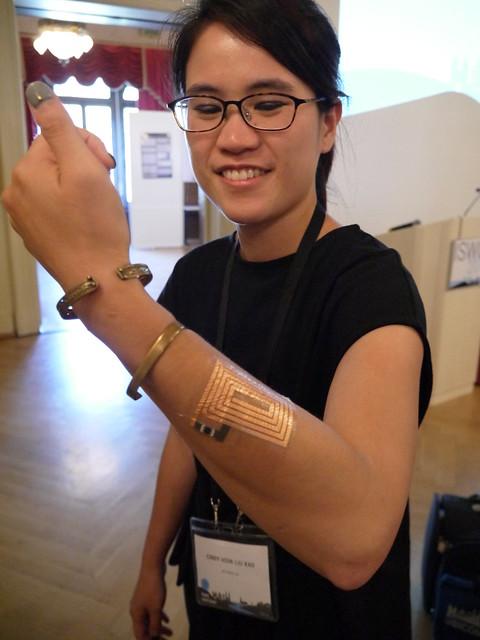Cindy Hsin Lio Kao's amazing DuoSkin tattoos