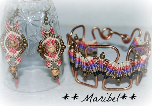 Conjunto Macrame by HADA-Maribel