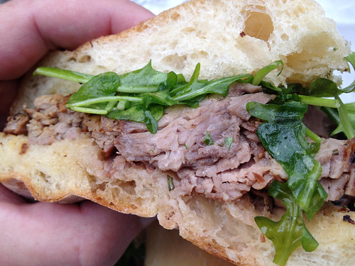 Flank Steak Sandwich from The People's Pig
