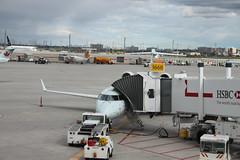 aircraft, aviation, machine, airliner, airport, vehicle, transport, jet bridge, infrastructure, tarmac,