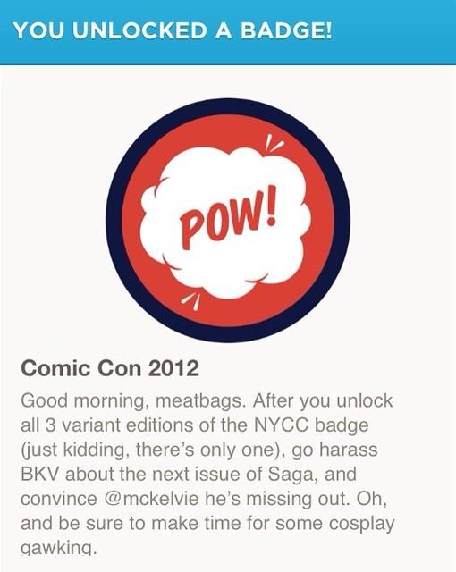 New York Comic Con Achievement Unlocked! #NYCC