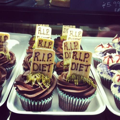R.I.P diet cupcakes! So hilarious :)