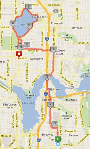 Today's awesome walk, 9.25 in 2:44 by christopher575
