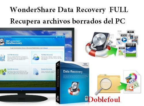 Descargar wondershare data recovery con serial gratis