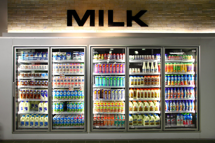 Milk-Section