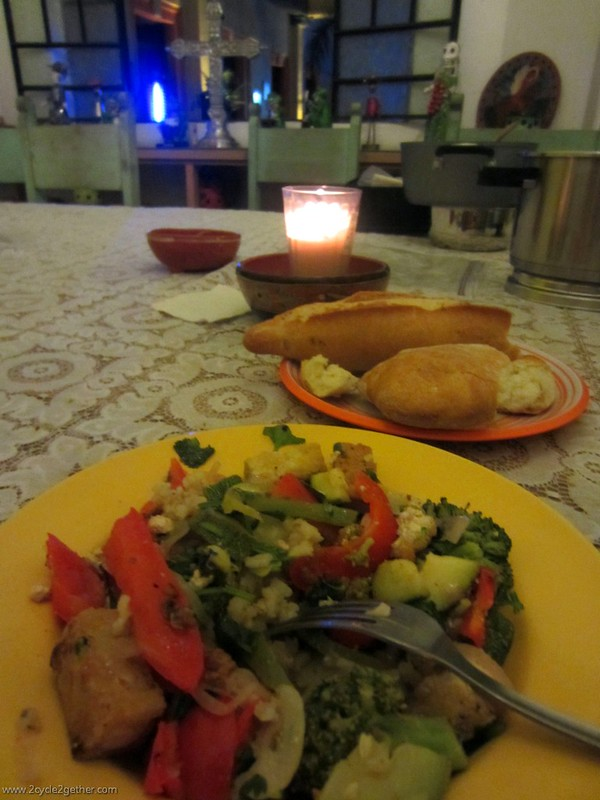Dinner at Casa Villasanta, Guadalajara