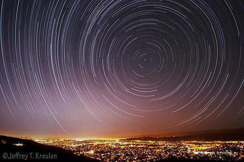 california city sky west nature night landscape star timelapse sanjose siliconvalley polaris northstar santaclaracounty startrail southsanfranciscobay