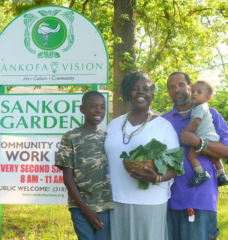 Homecoming at Sankofa Gardens in Shreveport, Louisiana
